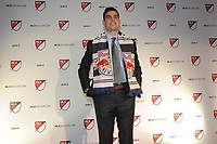 Philadelphia, PA - Thursday January 19, 2018: Brian White during the 2018 MLS SuperDraft at the Pennsylvania Convention Center.