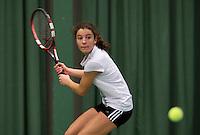 March 14, 2015, Netherlands, Rotterdam, TC Victoria, NOJK, Jasmijn Gimbrère (NED)<br /> Photo: Tennisimages/Henk Koster