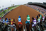 October 31, 2015 :  The field leaves the starting gate during the Sentient Jet Breeders' Cup Juvenile (Grade I) in Lexington, Kentucky on October 31, 2015. Jon Durr/ESW/CSM