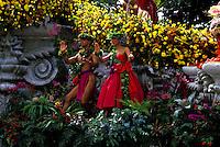 Hula at the Aloha Week Parade