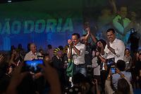 SÃO PAULO, SP, 24.07.2016 - ELEIÇÕES-SP - João Dória, Bruno Covas, Geraldo Alckmin e Lu Alkmin durante convenção municipal do partido na cidade de São Paulo na Fecomercio no centro da cidade de São Paulo neste domingo, 24. A aliança partidária do PSDB para as eleições municipais em São Paulo conta com o apoio de dez partidos. PSB, PPS, PHS, PMB e DEM. (Foto: Ciça Neder/Brazil Photo Press)