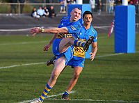 Action from the Horowhenua-Kapiti premier club rugby union Ramsbotham Cup final between Paraparaumu and Levin College Old Boys at Levin Domain in Levin, New Zealand on Saturday, 10 July 2021. Photo: Dave Lintott / lintottphoto.co.nz