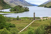 View of the Glenfinnan Monument at Loch Shiel, Scotland on 2015/06/13. Foto EXPA/ JFK/Insidefoto