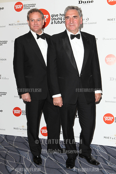 Hugh Bonneville and Jim Carter arriving for the Downton Abbey Ball, The Savoy, London.  30/04/2015 Picture by: Alexandra Glen / Featureflash