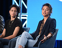 "PASADENA, CA - JANUARY 13: Host and Correspondent Paola Ramos, and Isobel Yeung, Correspondent attend the panel for ""VICE"" during the Showtime presentation at the 2020 TCA Winter Press Tour at the Langham Huntington on January 13, 2020 in Pasadena, California. (Photo by Frank Micelotta/PictureGroup)"