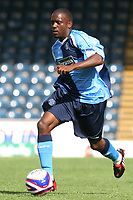 Nathan Ashton of Wycombe Wanderers, former Charlton and Fulham player who represented England at U19 level in action during Wycombe Wanderers vs Southend United, Friendly Match Football at Adams Park on 2nd August 2008