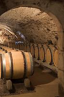 Europe/France/Bourgogne/89/Yonne/Chablis: Cave de la Providence et ses barriques de chène chez Jean Paul et Benoit Droin Chablis AOC