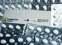 SÃO PAULO, SP, 19.01.2021:  Aplicativo TRATECOV - O Ministério da Saúde lançou hoje (19) o aplicativo TRATECOV para auxiliar médicos  e profissicionais da saúde no tratamento de pacientes com Covid- 19.  Após diagnóstico, o aplicativo TRATECOV sugere a prescrição de medicamentos sem eficácia chidroxicloroquina, cloroquina e ivermectina
