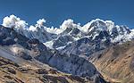 Heart of the Huayuash, Cordillera Huayuash, Peru