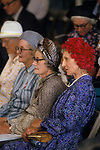 Senior group women on a day out at the East of England County Show Peterborough Cambridgeshire UK 1980s