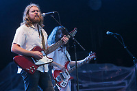 The Sheepdogs at the 44th Festival d'ete de Quebec on the Plains of Abraham in Quebec city Sunday July 17, 2011. The Festival d'ete de Quebec is Canada's largest music festival with more than 1000 artists and close to 400 shows over 11 days. The Canadian Press Images PHOTO/Festival d'ete de Quebec