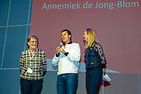 Nieuwegein,  Netherlands, 9 November 2018, Coaches congress KNLTB, Annemiek de Jong-Blom in the hall of fame<br /> Photo: Tennisimages.com/Henk Koster