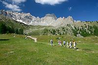 Randonnée en Queyras dans les Alpes du Sud