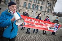 2020/12/16 Politik   VVN   Kundgebung für Gemeinnützigkeit