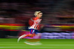 Antoine Griezmann of Atletico de Madrid in action during the UEFA Champions League 2017-18 match between Atletico de Madrid and Chelsea FC at the Wanda Metropolitano on 27 September 2017, in Madrid, Spain. Photo by Diego Gonzalez / Power Sport Images
