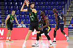 LLIGA NACIONAL CATALANA ACB 2020 AON.<br /> Morabanc Andorra vs Club Joventut Badalona: 77-75.<br /> Ante Tomic vs Babatunde Olumuyiwa.