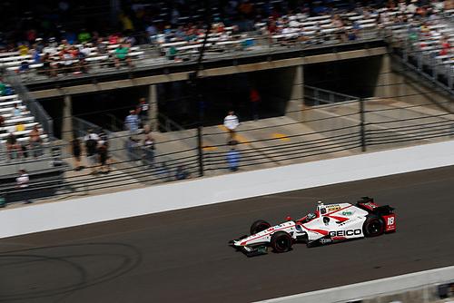 Verizon IndyCar Series<br /> Indianapolis 500 Carb Day<br /> Indianapolis Motor Speedway, Indianapolis, IN USA<br /> Friday 26 May 2017<br /> James Davison, Dale Coyne Racing Honda<br /> World Copyright: Michael L. Levitt<br /> LAT Images