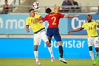 Spain's Cesar Azpilicueta (r) and Colombia's Carlos Bacca during international friendly match. June 7,2017.(ALTERPHOTOS/Acero) (NortePhoto.com) (NortePhoto.com)
