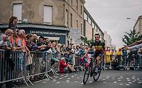 Fresh Belgian Champion Yves Lampaert (BEL/Quick Step Floors) at the Team presentation in La Roche-sur-Yon<br /> <br /> Le Grand Départ 2018<br /> 105th Tour de France 2018<br /> ©kramon