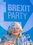 Brexit Party EU elections campaign launch at  The Neon in Newport, South Wales. Ann Widdecombe of the Brexit Party speaking to delegates.