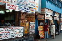 Indien, Bombay (Mumbai), Reisebüro
