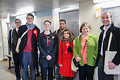 Tulip Siddiq with Emily Thornbury MP.  General election 2015: Tulip Siddiq, Labour candidate for Hampstead & Kilburn, the second most marginal seat in the UK, canvasses voters in Swiss Cottage.