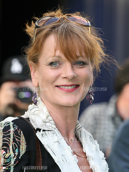 Samantha Bond attending the Shrek The Musical Press Night, at the The Theatre Royal, London. 14/06/2011  Picture by: Alexandra Glen / Featureflash
