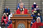 May 23, 2021; University of Notre Dame President John I. Jenkins, C.S.C., speaks during Commencement Mass. (Photo by Barbara Johnston/University of Notre Dame)
