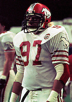 Sean McKeown Calgary Stampeders 1984  Photo F. Scott Grant.