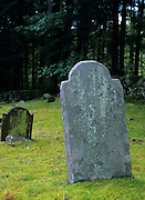 Headstone at Ye Olde Cemetery in Danville, New Hampshire.