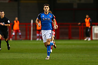 Joe Riley of Carlisle United during Crawley Town vs Carlisle United, Sky Bet EFL League 2 Football at Broadfield Stadium on 21st November 2020