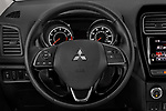 Car pictures of steering wheel view of a 2019 Mitsubishi Outlander-Sport GT 5 Door SUV Steering Wheel