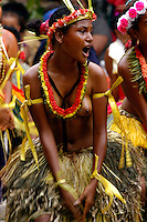 Images from the Book Journey Through Color and Time,.the very traditional Yapese during a ceremony, Yap Micronesia a small island in the Pacific between Guam and Palau