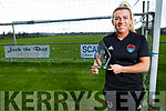Savannah McCarthy former Listowel Celtic player now with Cork City, received the Cork City Senior Womens player of the year award last weekend