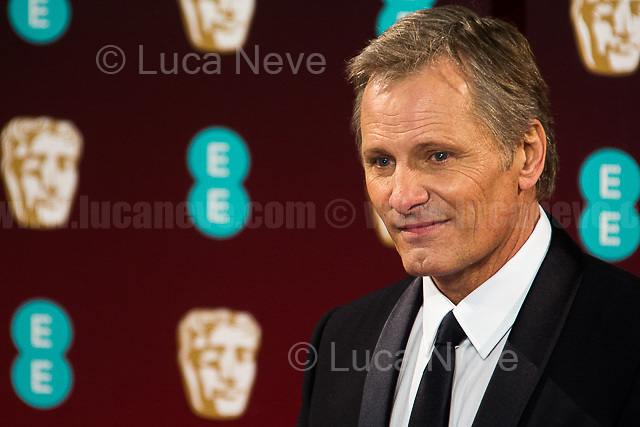 Viggo Mortensen. <br /> <br /> London, 12/02/2017. Red Carpet of the 2017 EE BAFTA (British Academy of Film and Television Arts) Awards Ceremony, held at the Royal Albert Hall in London.<br /> <br /> For more information please click here: http://www.bafta.org/