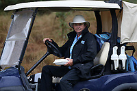 CHAPEL HILL, NC - OCTOBER 13: Head coach Jan Mann of the University of North Carolina at UNC Finley Golf Course on October 13, 2019 in Chapel Hill, North Carolina.