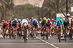 Giacomo Nizzolo (ITA) Team Dimension Data wins Stage 6 of the 10th Tour of Oman 2019, running 135.5km from Al Mouj Muscat to Matrah Corniche, Oman. 21st February 2019.<br /> Picture: ASO/Kåre Dehlie Thorstad | Cyclefile<br /> All photos usage must carry mandatory copyright credit (© Cyclefile | ASO/Kåre Dehlie Thorstad)