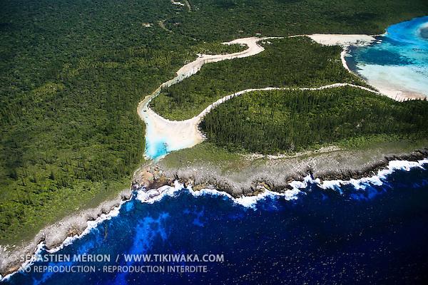Piscine Naturelle, Baie d'Oro, Ile Wètë et Ile Kô ngéaa ké, Ile des Pins, Nouvelle-Calédonie