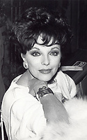 Joan Collins at the rehearsal for night of 100 stars. 1982<br /> Photo by Adam Scull/PHOTOlink