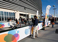 AT&T display. The USMNT tied Argentina, 1-1, at the New Meadowlands Stadium in East Rutherford, NJ.