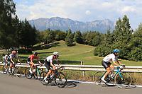 12th September 2021: Trento, Trentino–Alto Adige, Italy: UEC Road European Mens Elite Cycling Championships; The pack