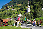 Austria, Tyrol, Pitztal Valley, St. Leonhard im Pitztal: parish fair with procession | Oesterreich, Tirol, Pitztal, St. Leonhard im Pitztal: Kirchtag in St. Leonhard mit Prozession