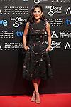 Toni Acosta poses before the 2015 Goya Awards nominee ceremony in Madrid, Spain. January 19, 2015. (ALTERPHOTOS/Victor Blanco)