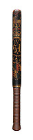 BNPS.co.uk (01202) 558833. <br /> Pic: Dreweatts/BNPS<br /> <br /> Pictured: This George IV painted wood truncheon has an estimate of £250. <br /> <br /> A hard-hitting single owner collection of rare 18th and 19th century police truncheons have emerged for sale.<br /> <br /> The over 50 wooden clubs were carried around by constables of the parish in the years before official police forces were founded.<br /> <br /> The batons were often beautifully decorated and sometimes stamped or marked to commemorate a notorious public order incident that had previously happened in the parish.