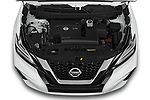 Car Stock 2020 Nissan Murano SV 5 Door SUV Engine  high angle detail view