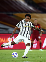 Football, Serie A: AS Roma - Juventus, Olympic stadium, Rome, September 27, 2020. <br /> Juventus' Weston Mckennie in action during the Italian Serie A football match between Roma and Juventus at Olympic stadium in Rome, on September 27, 2020. <br /> UPDATE IMAGES PRESS/Isabella Bonotto