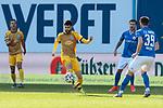 20.02.2021, xtgx, Fussball 3. Liga, FC Hansa Rostock - SV Waldhof Mannheim, v.l. Hamza Saghiri (Mannheim, 35) <br /> <br /> (DFL/DFB REGULATIONS PROHIBIT ANY USE OF PHOTOGRAPHS as IMAGE SEQUENCES and/or QUASI-VIDEO)<br /> <br /> Foto © PIX-Sportfotos *** Foto ist honorarpflichtig! *** Auf Anfrage in hoeherer Qualitaet/Aufloesung. Belegexemplar erbeten. Veroeffentlichung ausschliesslich fuer journalistisch-publizistische Zwecke. For editorial use only.