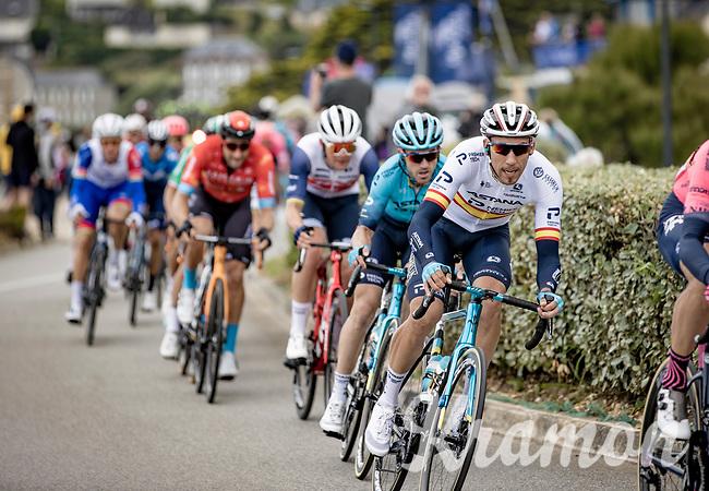 Spanish national champion Omar Fraile (ESP/Astana - Premier Tech)<br /> <br /> Stage 1 from Brest to Landerneau (198km)<br /> 108th Tour de France 2021 (2.UWT)<br /> <br /> ©kramon