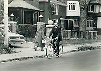 1979 FILE PHOTO - ARCHIVES -<br /> <br /> Anglican Bishop of Toronto<br /> Garnsworthy; Lewis<br /> <br /> No backpedalling: Archbishop Lewis S. Garnsworthy; who likes to garden or to bicycle for relaxation; says he does not worry if some of his unconventional views are unpopular. I'm too old to change; says the 57-year-old head of the Ontario region of the Anglican Church; who was elected to the post last month.<br /> <br /> <br /> Bezant, Graham<br /> Picture, 1979<br /> <br /> 1979,<br /> <br /> PHOTO : Graham Bezant - Toronto Star Archives - AQP