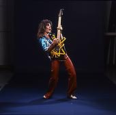 EDWARD VAN HALEN, VH 2 ALBUM SESSION, STUDIO, 1978, NEIL ZLOZOWER